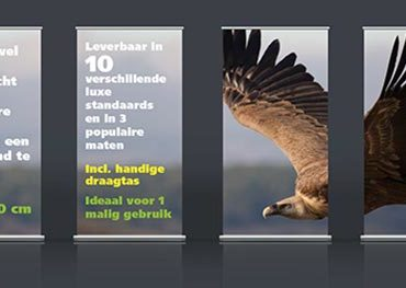 Actie Roll-Up Banners