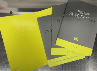 Brochures en map AKROH