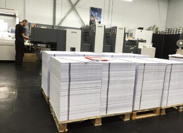 INDRUK met drukwerk